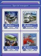 Maldiven / Maldives - Postfris / MNH - Sheet Speciaal Transport 2017 - Maldiven (1965-...)