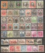 46 Timbres Anciens Du Chili - Chile