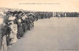 85 - VENDEE / Saint Jean De Monts - Tir Au Canard Sur La Plage - Beau Cliché Animé - Saint Jean De Monts