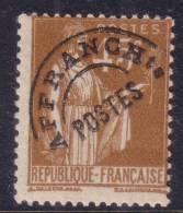 *PROMO* 45c Paix Neuf ** Sans Charnière  (tâche De Rousseur Au Verso) 1er Tirage (Y&T N° 71, Cote 50€) - Préoblitérés