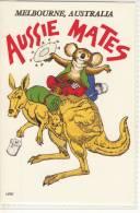 "MELBOURNE - Aussie Comic, No 2,  ""Rose"" Series De Luxe,  Nice Stamp - Melbourne"