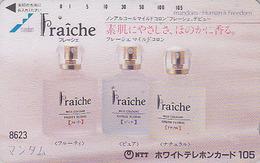 Télécarte Japon 7/11 - 8623 - 105 U - Parfum Eau De Cologne FRAICHE ** ONE PUNCH ** - Perfume Japan Phonecard - Perfume