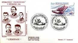 """Hydravion """" Croix Du Sud """" - 7 Décembre 1936 - 1980-1989"""