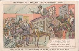 Historique Du Traitement De La Constipation Offert Par Les Grains  Emollients De Vichy  13 Place Du Havre A Paris - Santé