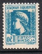 ALGERIE N°214b N*  Variété Impression Recto-verso - Algérie (1924-1962)