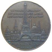 JETON / TOKEN - TOUR EIFFEL / EIFFEL TOWER - SOUVENIR De Mon ASCENSION Au 1er étage (1889) - Turistici