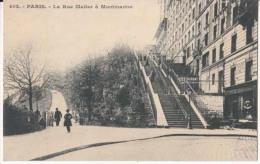 Dep  75 - Paris - Montmartre  - La  Rue Muller à Montmartre  - Carte Précurseur   : Achat Immédiat - France
