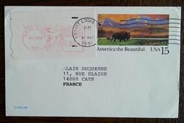 ETATS-UNIS - Entier Postal America The Beautiful / Bison - 1991 - Postal Stationery
