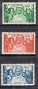 ALGERIE N°276 A 278 N* - Algérie (1924-1962)