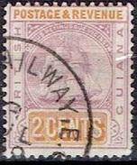 BRITISH GUIANA #  FROM 1899-07  STAMPWORLD 85 - British Guiana (...-1966)
