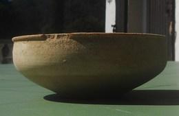 Coupe Romaine En Terre Cuite Utilisé Du 2em Au 4em Siècle - Archaeology