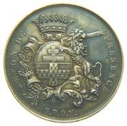 BELGIQUE - VILLE De YPRES - JETON / TOKEN De PRESENCE En Argent (1864) / 32 Mm - Altri