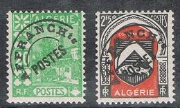 ALGERIE PREOBLITERE N°13 ET 15 N* - Algérie (1924-1962)
