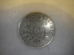 Cinquante Centimes (1911) - G. 50 Centimes