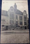 CPA Lauwe Gemeentehuis En Postbureel Maison Communale Et Bureau De Postes 1935 - Menen