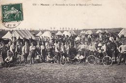 CPA - Meaux - Camp De Bauvel - 4° Hussards - Maniobras
