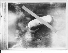 Drachen Ballon Saucisse Allemand Survolant Le Front 1 Photo 1914-1918 14-18 Ww1 - War, Military