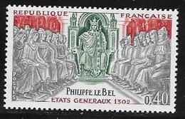 N° 1577   FRANCE  -  NEUF  -  PHILIPPE LE BEL   -  1968 - Unused Stamps