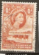 Bechuanaland 1955 SG 146b  Fine Used - Bechuanaland (...-1966)