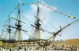 Bateau -H-M-S VICTORY  Portsmouth  (Navire Amiral De Guerre Trois Mâts Voile )*PRIX FIXE - Guerre