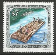 Austria - 2000 International Rafting 7s MNH **      Sc 1824 - 1945-.... 2nd Republic