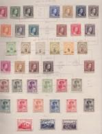 Luxemburg       .     Pagina Met Zegels   .   /      .   Page With Stamps - Ongebruikt