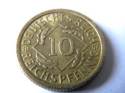 ALLEMAGNE - 10 REICHSPFENNIG 1935.A. BEL ETAT. - [ 4] 1933-1945 : Tercer Reich