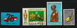 """Botswana 3 Gestempelte Marken, Siehe Scan Und Eine """"75 Bulawayo 1893-1968"""" - Botswana (1966-...)"""