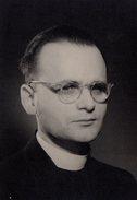 Photo Originale Portrait D' Un Prêtre New-Yorkais En 1956 - Dr. Gerhard Fiffkau - Anonymous Persons