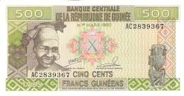 GUINEE   500 Francs   1985   P. 31a   UNC - Guinée
