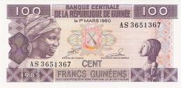 GUINEE   100 Francs   1985   P. 30a   UNC - Guinée
