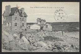 TRESTEL En TREVOU Le Grand Hôtel Sur La Plage (Thomas David) Côtes D´Armor (22) - France