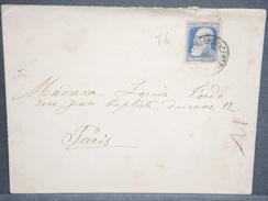BELGIQUE - Enveloppe De Charleroi Pour Paris En 1907 - L 6642 - 1905 Thick Beard