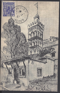 "ALGERIE - 1945 - Carte Maximum "" Mosquée De Sidi Abderrahman "" Ed. A. Slonimski Alger - B/TB - - Algérie (1924-1962)"