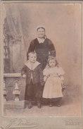 BREST : Femme De..et Ses Enfants.. Photographie  INIZAN  - Format 11x17 - Photographs