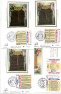 Carte Maximum - 2602/05 Les Droits De L'Homme - Maximum Cards