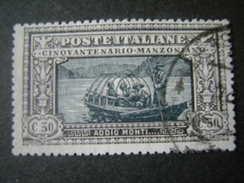 1923 - ALESSANDRO MANZONI, Cent.30, Sass. N. 153, TTB, OCCASIONE - 1900-44 Vittorio Emanuele III