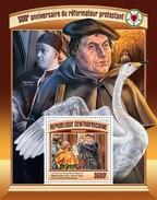 Centrafrica 2017, 500th Protestant Reform, Cignus, BF