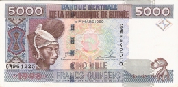 GUINEE   5000 Francs   1998   P. 38 - Guinée