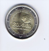Belgio - 2 Euro Commemorativo 2014 - - Bélgica