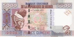 GUINEE   5000 Francs   2006   P. 41a   UNC - Guinea