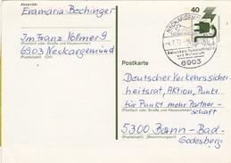 """Bund, Postkarte P 117 Von """"NECKARGEMÜND 1 / Beliebt Als Sommerfrische Und Wohnplatz"""" (ak0186) - BRD"""