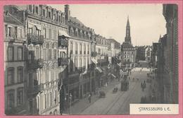 67 - STRASSBURG - STRASBOURG - Steinstrasse - Rue Du Faubourg De Pierre - Tram - Tramway - Strassenbahn - Strasbourg