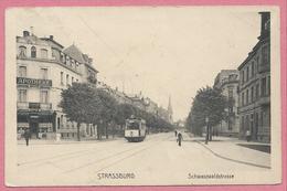 67 - STRASSBURG - STRASBOURG - Schwarzwaldstrasse - Avenue De La Föret Noire - Tram - Tramway - Strassenbahn - Apotheke - Strasbourg