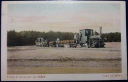 Interneeringskamp Bij Zeist Camp De Zeist Arrivée Du Train Militaire Treintje Komt Aan 1916 Militaria - Guerre 1914-18