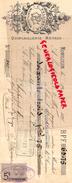 03 - MONTLUCON- TRAITE C. PELLISSIER- QUINCAILLERIE METAUX- 1895 - France