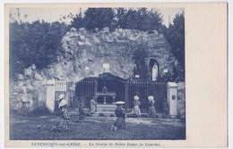Daverdisse-sur-Lesse Cpa La Grotte De Nôtre Dame De Lourdes - Daverdisse
