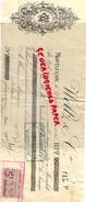 03 - MONTLUCON- TRAITE WELTZ & CIE - BRASSERIE DU CHATELET - BIERE 1896 NAUDIERE CHANUDET - France