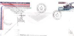 TAAF / PAQUEBOT MIXTE MARION DUFRESNE / MISSION VOLCANOLOGIQUE NORD KERGUELEN / N 64 - Terres Australes Et Antarctiques Françaises (TAAF)
