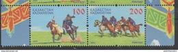 KAZAKHSTAN, 2016, MNH, NATIONAL SPORTS, HORSES,2v - Horses